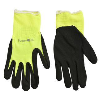 Fluorescent Garden Glove Yellow