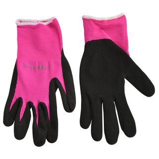 Fluorescent Garden Glove Pink