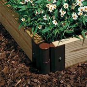 Space-Saver Garden Corner Joints