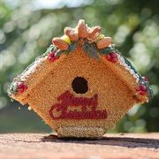 Merry Christmas Birdseed House image