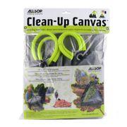 Allsop Clean-Up Canvas Tarp with Handles Thumb
