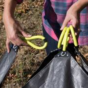 Allsop Clean-Up Canvas Tarp with Handles Alternate Image 3
