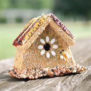 Rustic Wren House - Bird Feed and House image