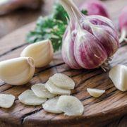 Purple Garlic Thumb