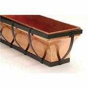 Copper Vase Window Box
