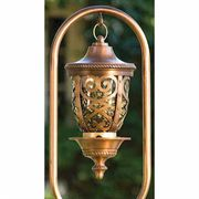 Antique Copper Seville Birdfeeder