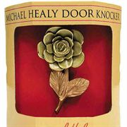 Handcrafted Rose Door Knocker