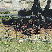 Lattice Fence Border, 36-inch Section