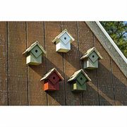 Summer Home Birdhouses, Set of 5