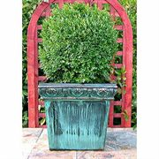 Foliage Square Copper Planter
