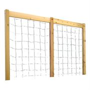 Raised Garden Bed Trellis Kit Natural Large