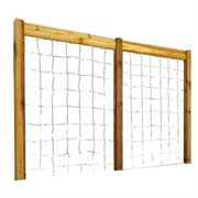 Raised Garden Bed Trellis Kit Safe Finish Large
