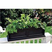 Fairfield Window Box Black 3 Feet - <b><font color=bb0000>Free Shipping!</font></b>