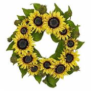 22 inch Sunflower Wreath