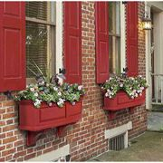 Nantucket Window Box-Red