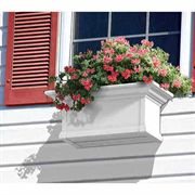 Yorkshire Window Box-White 2 Feet