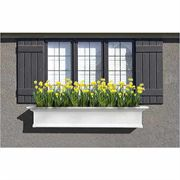 Yorkshire Window Box-White 5 Feet
