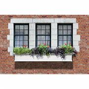 Yorkshire Window Box-White 6 Feet