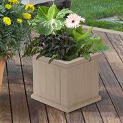 14 x 14 Cape Cod Patio Planter <b><font color=bb0000>Free Shipping!</font></b>