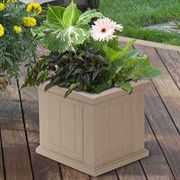 16 x16 Cape Cod Patio Planter <b><font color=bb0000>Free Shipping!</font></b>