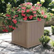 20x20 Cape Cod Patio Planter <b><font color=bb0000>Free Shipping!</font></b>