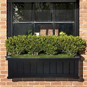 Cape Cod Window Box-Black