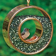 Roundabout Copper Bird Feeder
