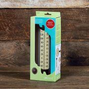 Conant Decor Grande View Thermometer Bronze Patina