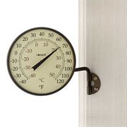 Conant Decor Dial Thermometer Bronze Patina