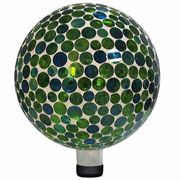 10-inch Mosaic Gazing Ball - Blue