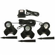 20 Watt Light - Set of 3 - W/Transformer - For use In or Out of Water