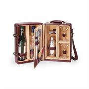 Mahogany Manhattan Cocktail Case Gift Set