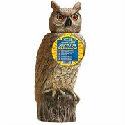 18-inch Natural Enemy Scarecrow® SOL-R Action Owl™