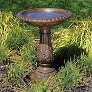 Antique Bronze Birdbath - <b><font color=bb0000>Free Shipping!</font></b>