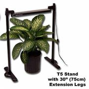 Seed Starting Universal T5 30-inch Extension Bars for Light Stand