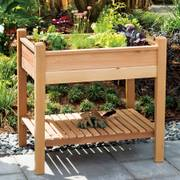 Western Cedar Elevated Planter