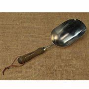 Stainless Steel Hand-held Potting Scoop