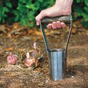 Stainless Steel Short-handled Bulb Planter