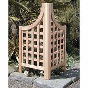 Western Red Cedar Privacy Screen Wings