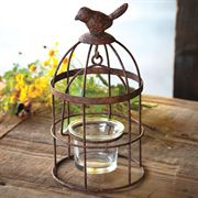 Bird Cage Votive - Set of 4