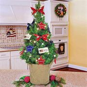 Americana Decorated Tree