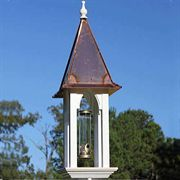 Bon Appetweet Bird Feeder with Bright Copper Roof