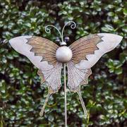 Iron Butterfly Garden Ornament