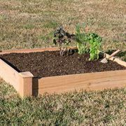 Cedar Raised Plant Bed