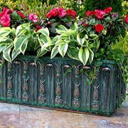 Floral Copper Window Box