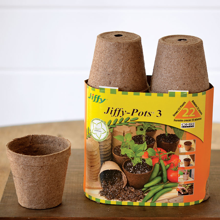 Jiffypots® 3-inch Round Biodegradable (Pack of 22) Image