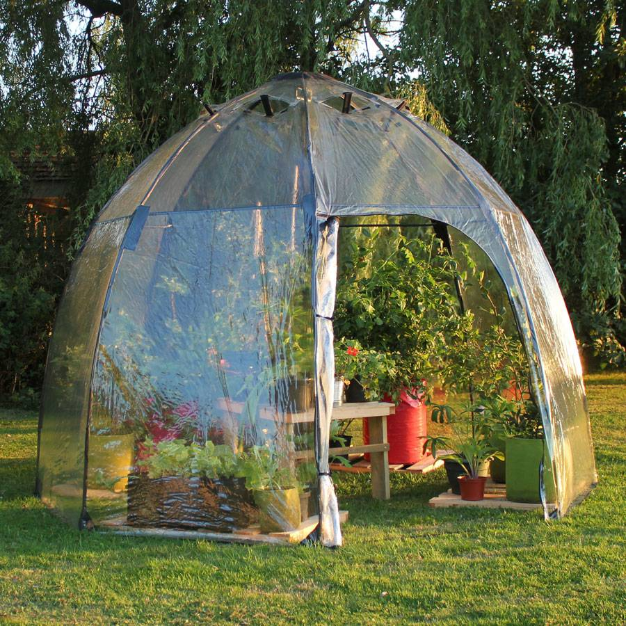 New. Tierra Garden Sunbubble Greenhouse