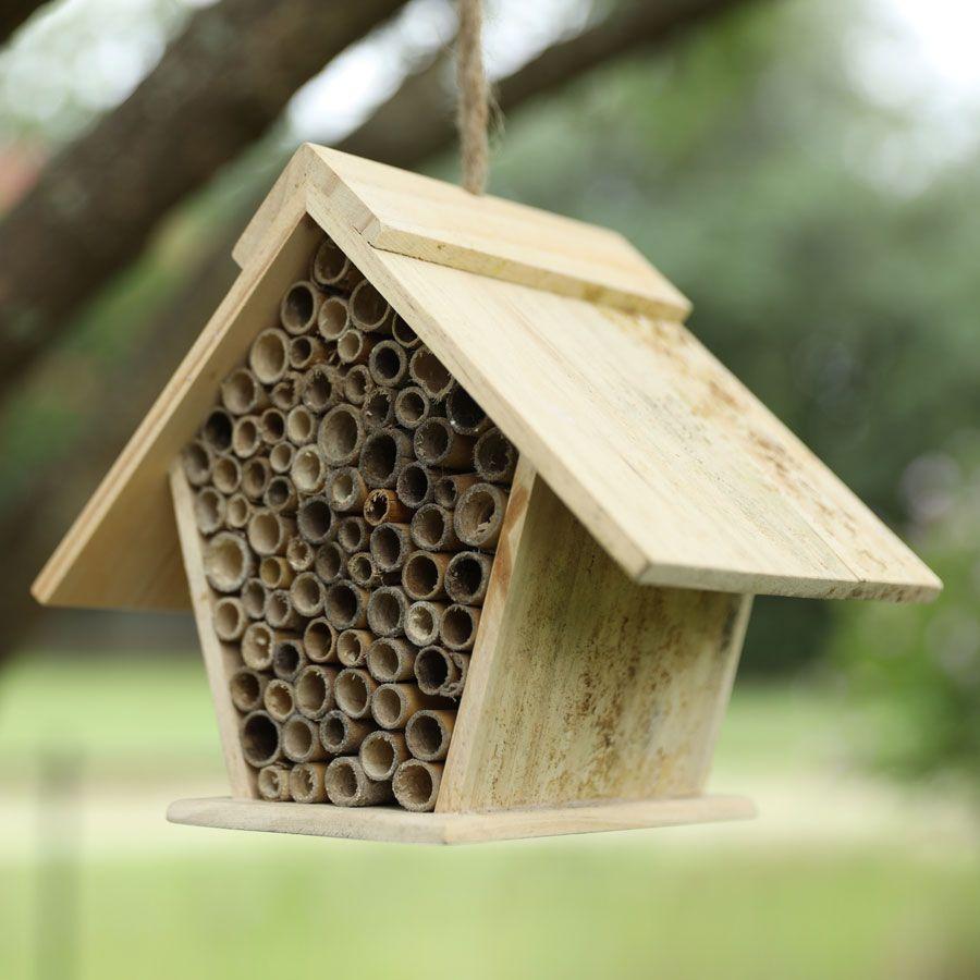 Songbird Essentials A-Frame Mason Bee House Image