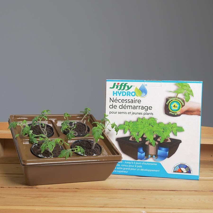 Jiffy® Hydro Starter Kit for Seedlings Image