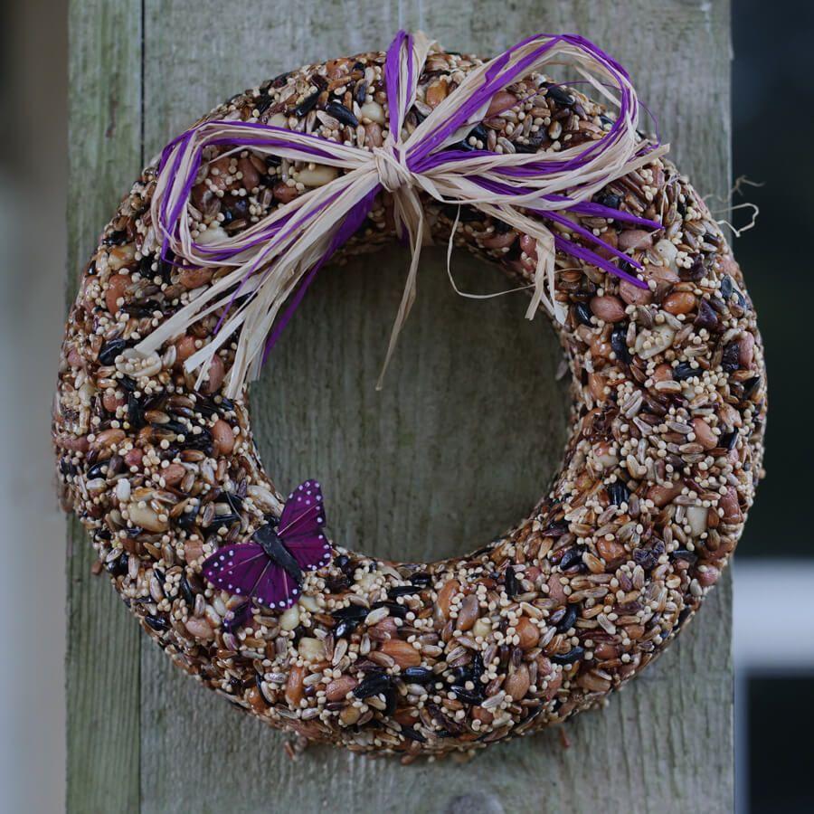 Wildfare Birdseed Wreath Image